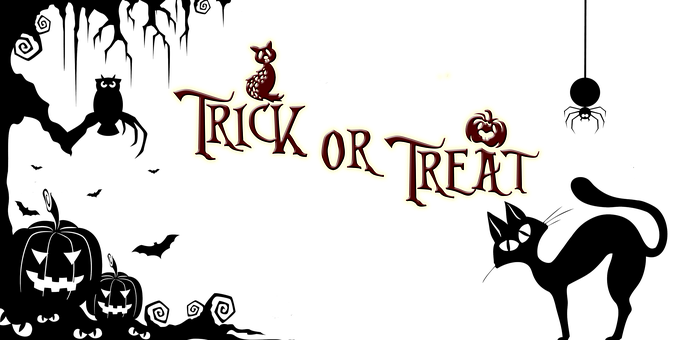 Trick-or-Treating with Braces